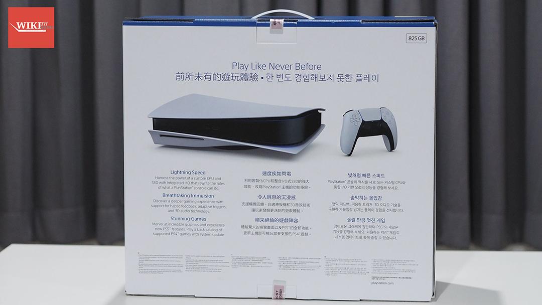 แกะกล่อง PS5 02 02