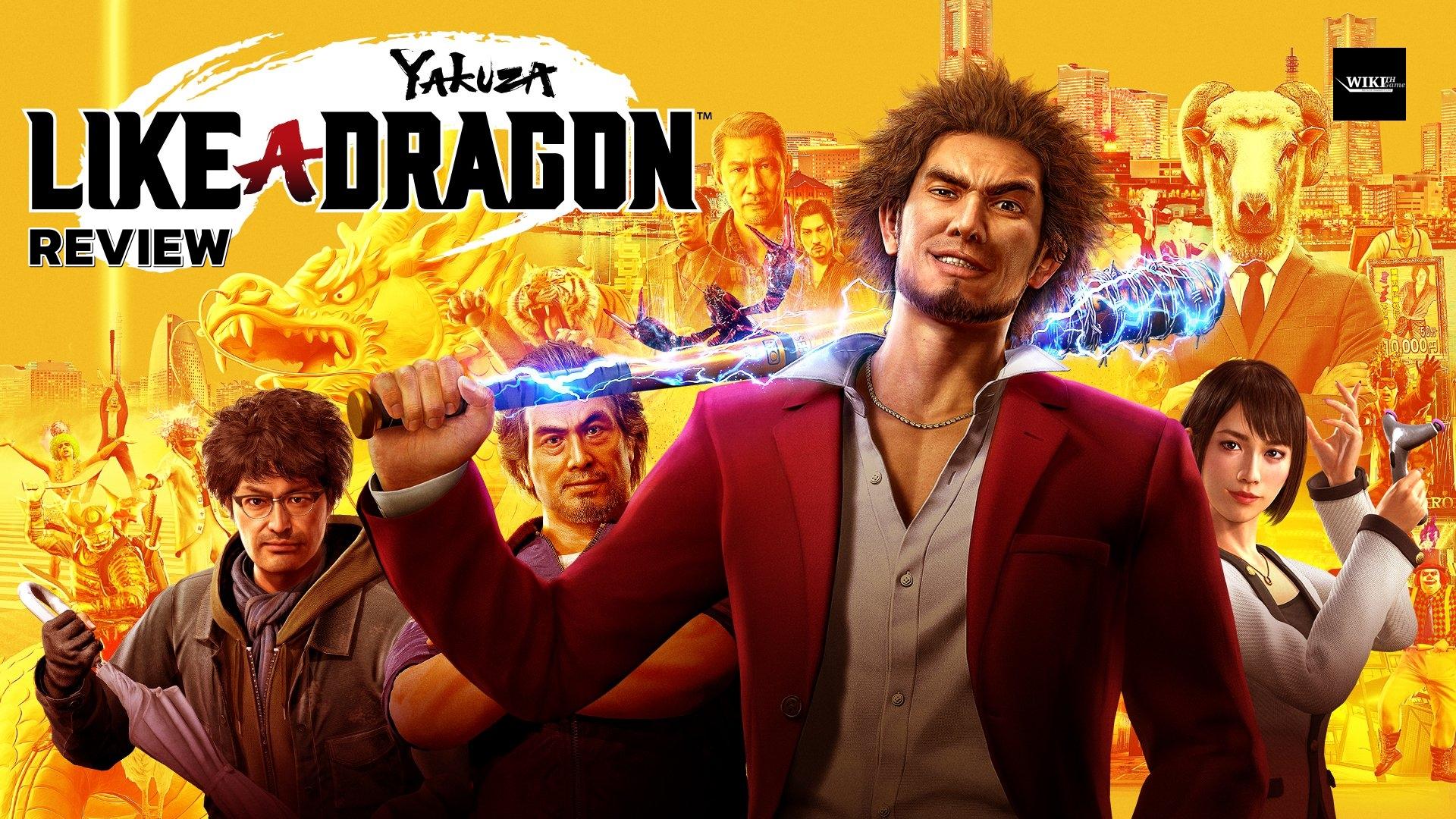 YAKUZA LIKE A DRAGON – รีวิว [Review]