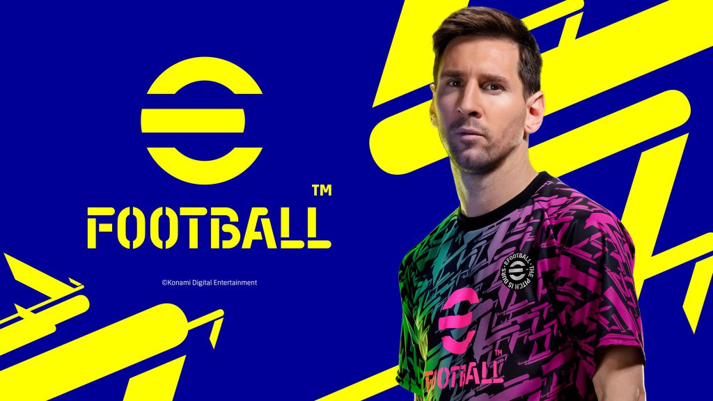 KONAMIเปิดตัวเกมใหม่ eFootballในรูปแบบFREE-TO-PLAY